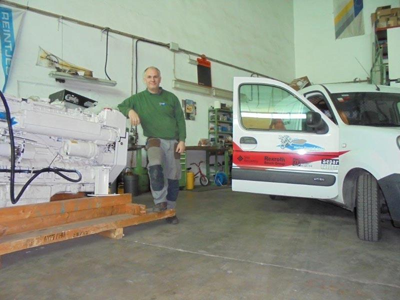 Marine Diesel & Gears Inhaber Andreas Pfahler